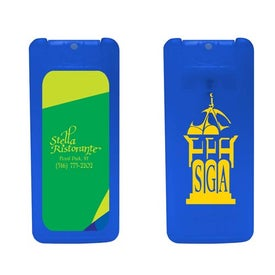 Mini Credit Card Antibacterial Hand Sanitizer Spray for Marketing