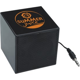 Imprinted Mini Cube Speaker