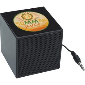 Branded Mini Cube Speaker