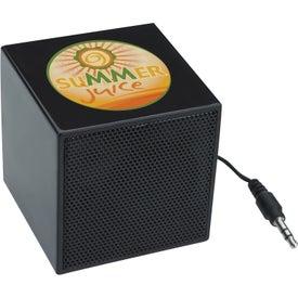 Branded Mini Cube Speaker
