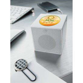 Imprinted Mini Cube Speaker