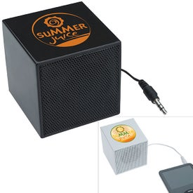 Mini Cube Speaker with Your Logo