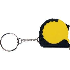 Mini Grip Tape Measure Keychain for Customization