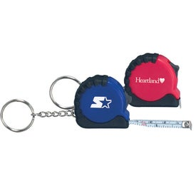 Mini Grip Tape Measure Keychain for your School
