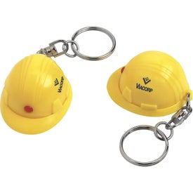 Mini Hard Hat Key Chain