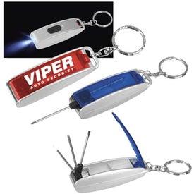 Logo Mini Lighted Screwdriver Repair Kit