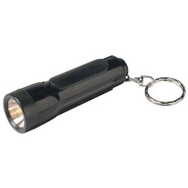 Customized Mini Torch Light With Key Ring