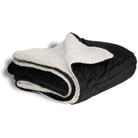 Printed Mink Sherpa Blanket