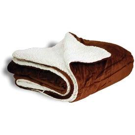 Advertising Mink Sherpa Blanket