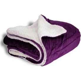 Mink Sherpa Blanket for Promotion