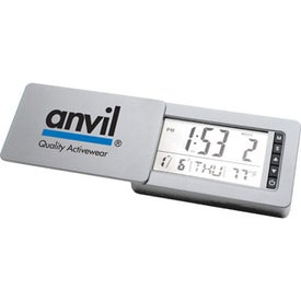 Travel Mirror With Integrated Clock and Timer for Your Company