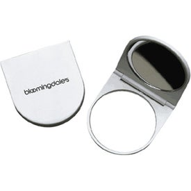 Branded Magnifying Mirror Compact