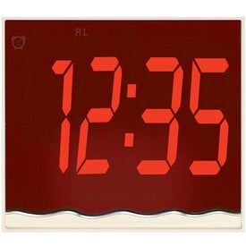 Mirror Mood Clock for Your Compan