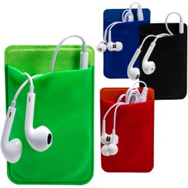 Promotional Mobile Device Pocket and Earbuds Set