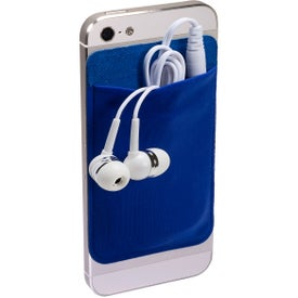 Mobile Device Pocket and Earbuds Set for Your Company