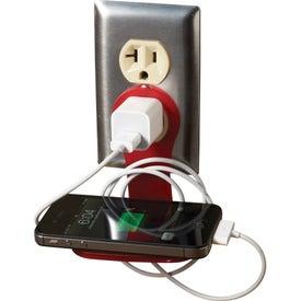 Mobile Phone Charging Shelf