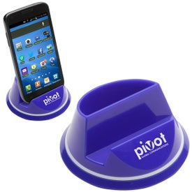 Monogrammed Mobile Phone Desk Caddy