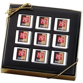 Mondrian Gift Boxed Chocolate Squares