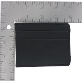 Advertising Money Clip Card Holder
