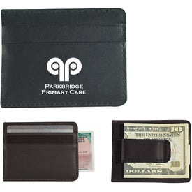 Money Clip Card Holder Printed with Your Logo