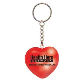 Mood Heart Key Chain