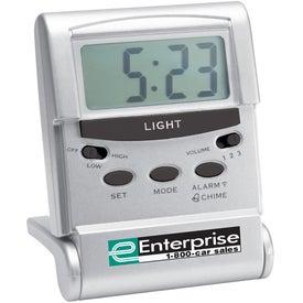 Advertising Mosquito Repellent Travel Alarm Clock