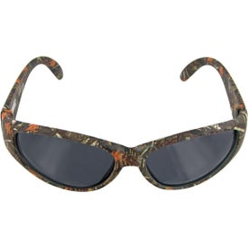 Printed Mostly Oak Camo Sunglasses