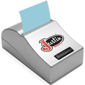 Imprinted Motorized Note Pad Dispenser