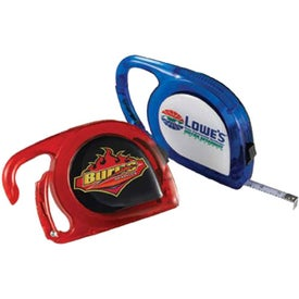 Moxie Translucent Tape Measure Printed with Your Logo