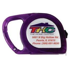 Customized Moxie Translucent Tape Measure
