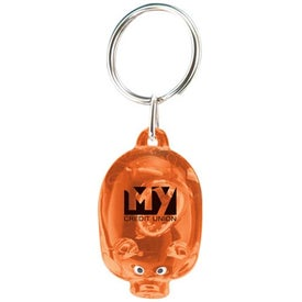 Mr. Piggy Keytag Printed with Your Logo