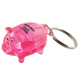Promotional Mr. Piggy Keytag