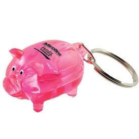 Promotional Mr. Piggy Keytag