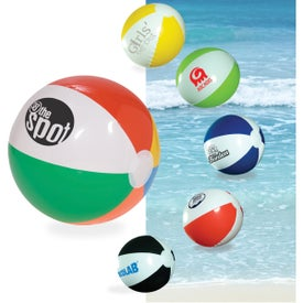 "Multi Color Beach Ball (10 1/2"")"