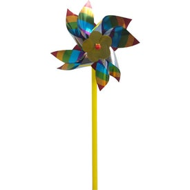 Advertising Multi Color Pinwheel
