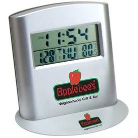 Personalized Multi Function Travel Alarm Clock
