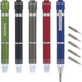 Aluminum Multi-Tool Kit With LED Light