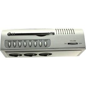 Printed Multi Functional Executive Digital FM Scanner Radio