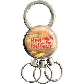 Multi-Ring Valet Keychain