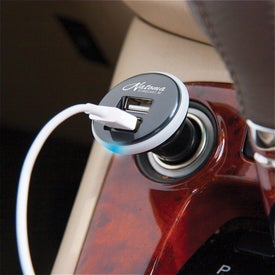Mushroom USB Car Charger for Your Organization