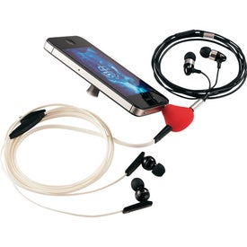 Music Splitter and Phone Stand with Your Logo
