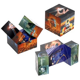 Logo Mystic Puzzle Cube