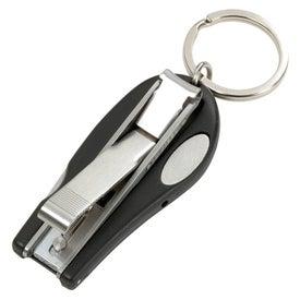 Promotional Nail Clipper Keyfob