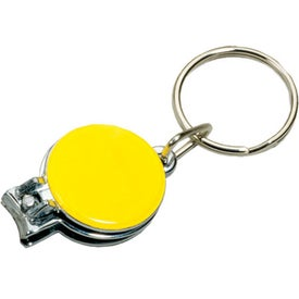 Nail Clipper/Key Holder Imprinted with Your Logo