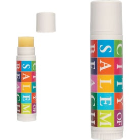 Natural Flavor Lip Balm Branded with Your Logo