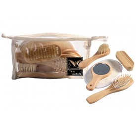 Natural Wood Spa Set