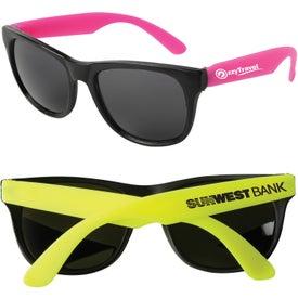 Neon Rubber Sunglasses