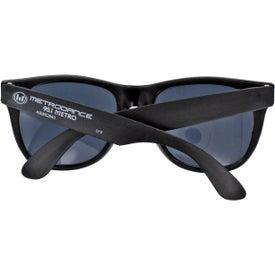 Neon Rubber Sunglasses for Advertising