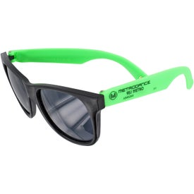 Neon Rubber Sunglasses for Your Organization