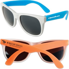 Do Sunglasses Have Sizes  promotional neon rubber sunglasses with custom logo for 0 75 ea